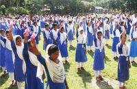 রাজিহার মাধ্যমিক বিদ্যালয়ে    ওয়াশ কর্মসূচি উদ্বোধন
