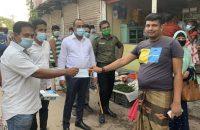আগৈলঝাড়ায় ৮টি প্রতিষ্ঠানকে ভ্রাম্যমান আদালতে জরিমানা