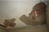 উজিরপুর স্বাস্থ্য কমপ্লেক্সে ভবন ছাদের পলেস্তারা খসে দুই কর্মচারি জখম